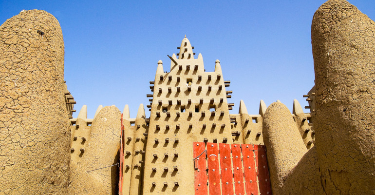 Gran Mesquita de Djenne. #Dailyphoto222