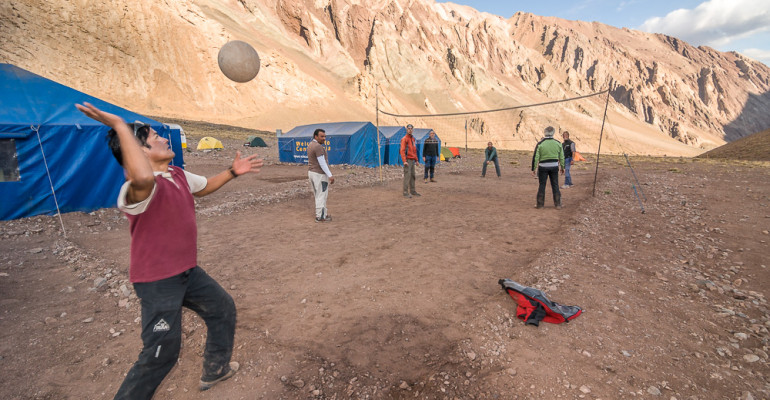 Aconcagua Volley. Daily photo #68