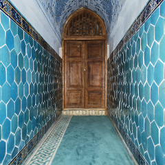 Mesquita de Dorut Tilovat. Shakhrisabz
