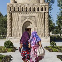 Mausoleu dels Samànides. S IX-X. Bukhara.
