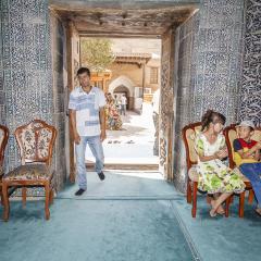 Mausoleu de Pahlavan Mahmud. Ichan Kala. Khiva