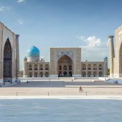 Placa del Registan. Samarcanda
