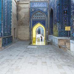 Avinguda dels Mausoleus. Samarcanda