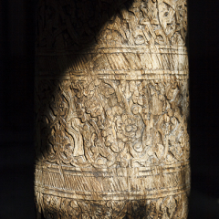 Detall de columna. Mesquita Djuma. Ichan kala. Khiva