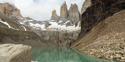 Torres del Paine. Parc Nacional Torres del Paine. Xile