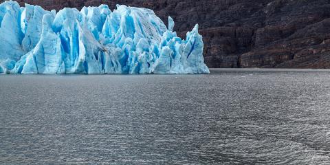 Glaciar Grey. Parc Nacional Torres del Paine. Xile