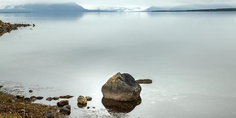 Badia de Puerto Natales. Xile