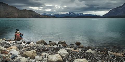 Llac Nordenskjöld. Refugi Cuernos. Parc Nacional Torres del Paine.