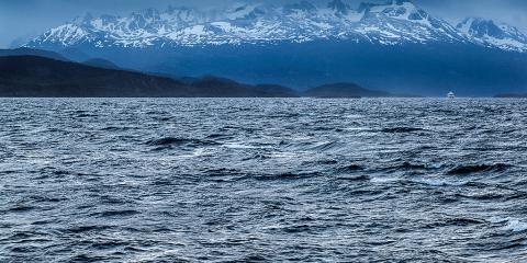 Cordillera Austral. Travessa Yaghan. Terra del Foc